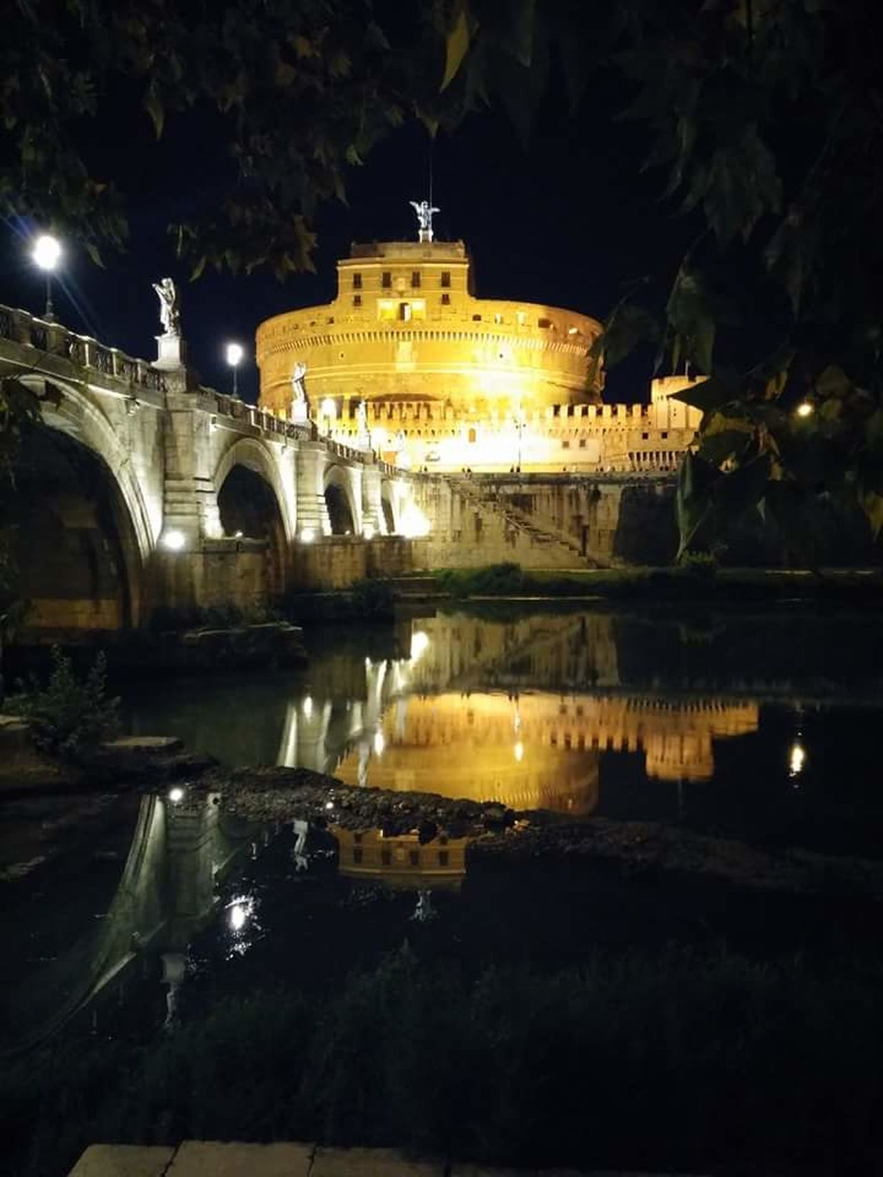 Roma Di Notte Rome By Night Castel Sant'Angelo