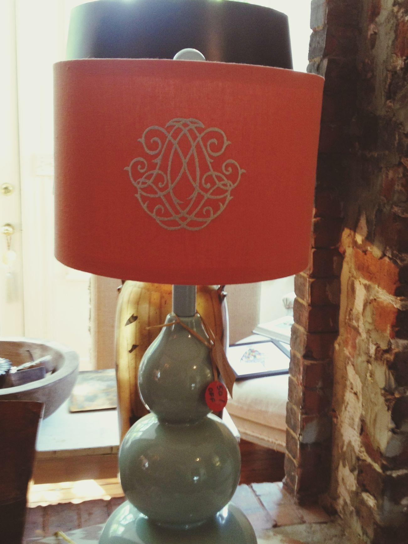 beautiful Lamp @ d.luxe 413 Whitaker, Savannah, GA