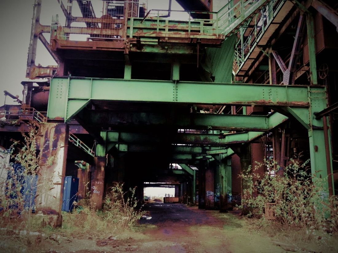 Hösch 5 Abandoned Architecture Built Structure Day History Industry Iron Manufactoring Iron Producing No People Outdoors Sky Steel Works Steelmill Technical Monument