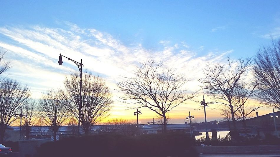 Sunset Beautiful Beauty In Nature Trees New York Check This Out Skyporn Clouds And Sky Iloveit Sunset Lovers Sun