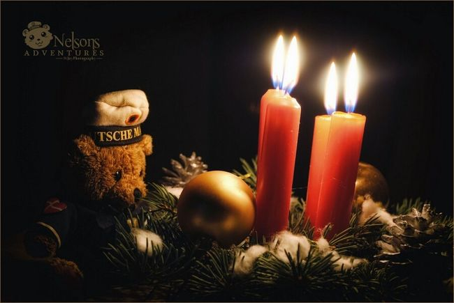 Wish you all a happy fourth sunday of Advent. ???? NelsonsAdventures Happy Holidays! Christmas Taking Photos Hello World Eye4photography  Candlelight Cute Streamzoofamily