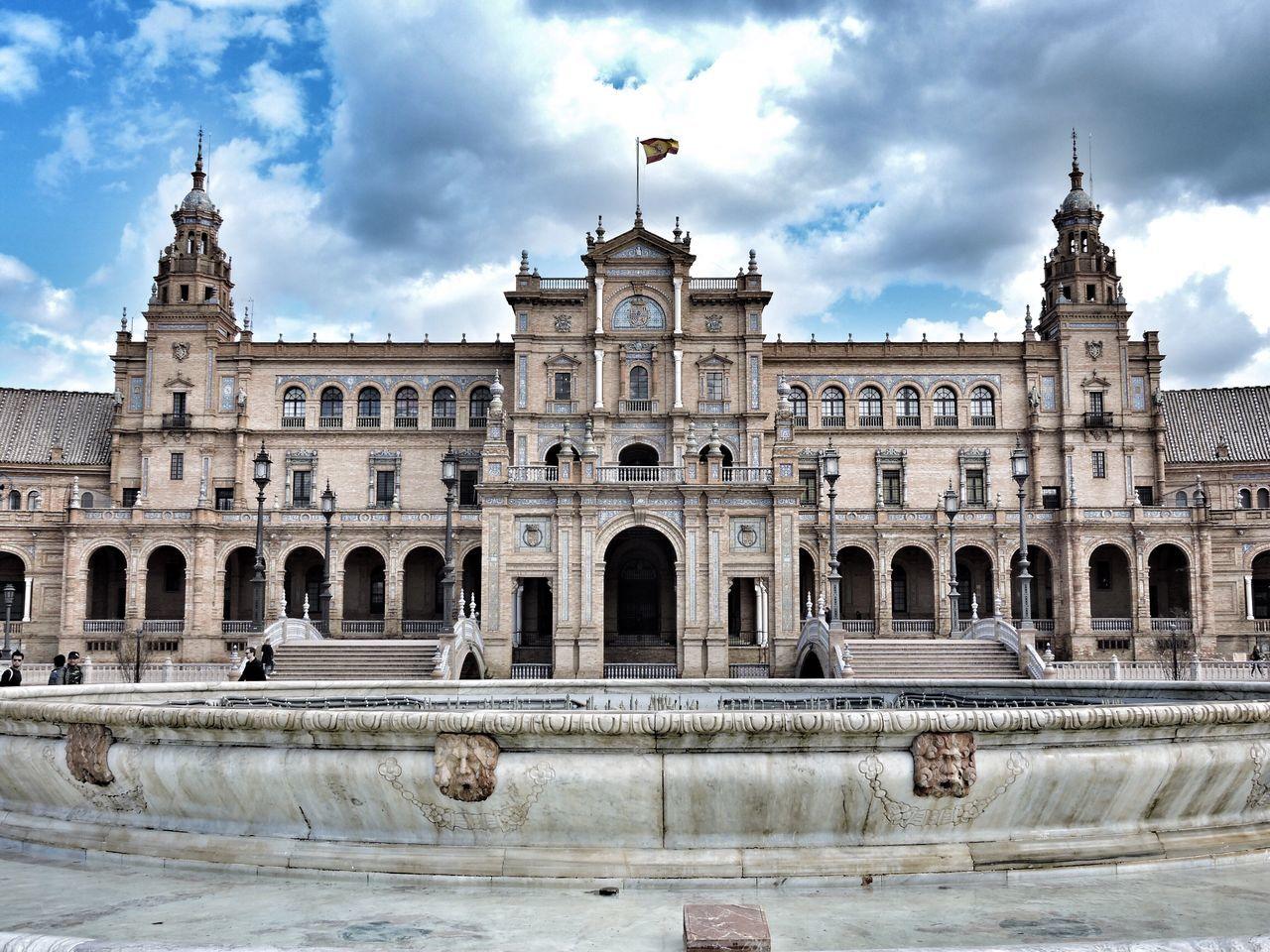 Plaza España Landscape Square History SPAIN