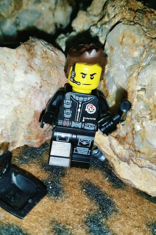 Close-up Through My Lens Australianphotographer Mobilephone Photography Full Frame Fragility Growth Backgrounds Lego Man LEGO Lego Minifigures Quartz Rocks