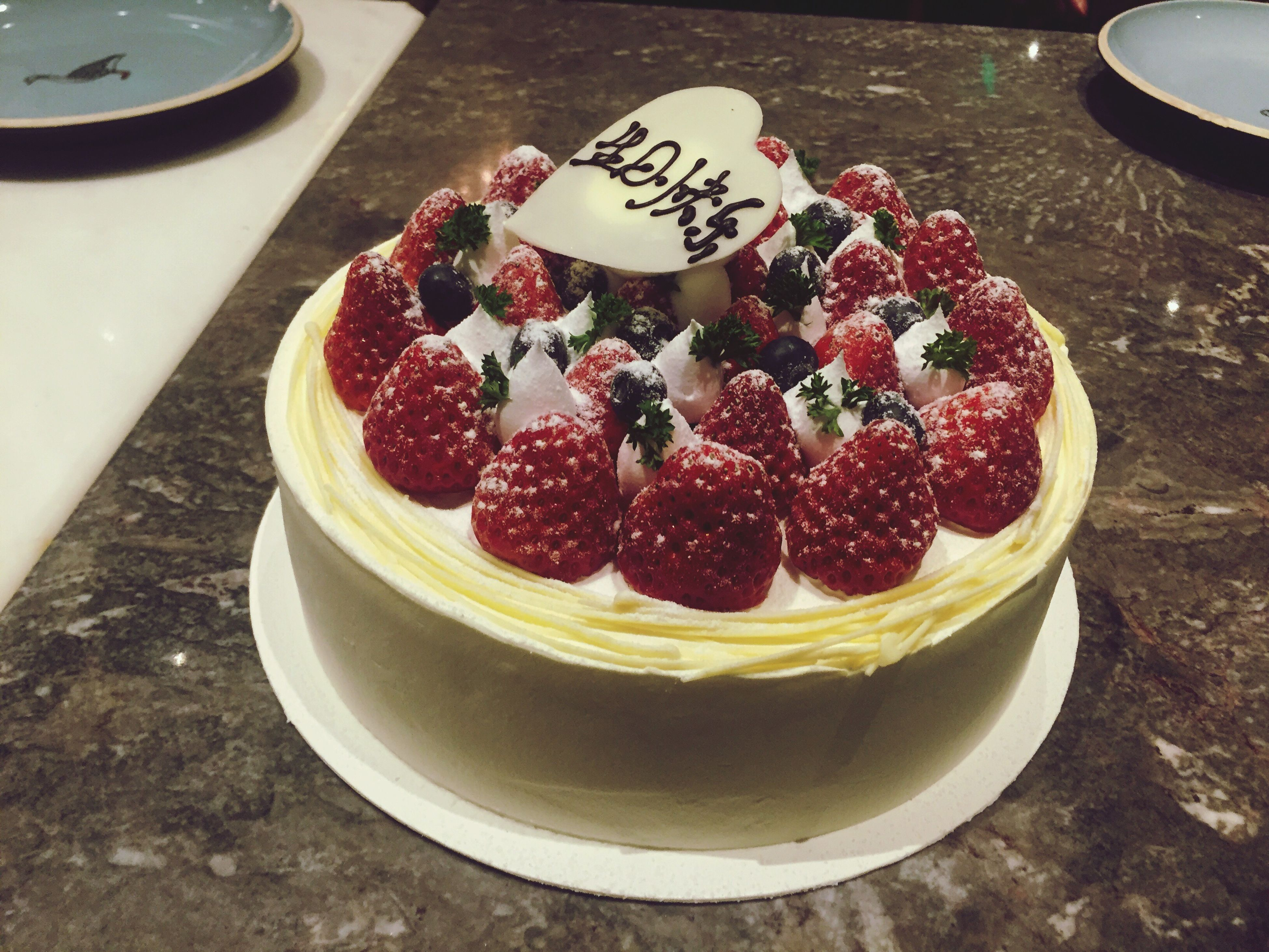 food and drink, food, freshness, sweet food, fruit, dessert, indoors, strawberry, ready-to-eat, indulgence, still life, raspberry, plate, cake, table, unhealthy eating, high angle view, berry fruit, temptation, blueberry