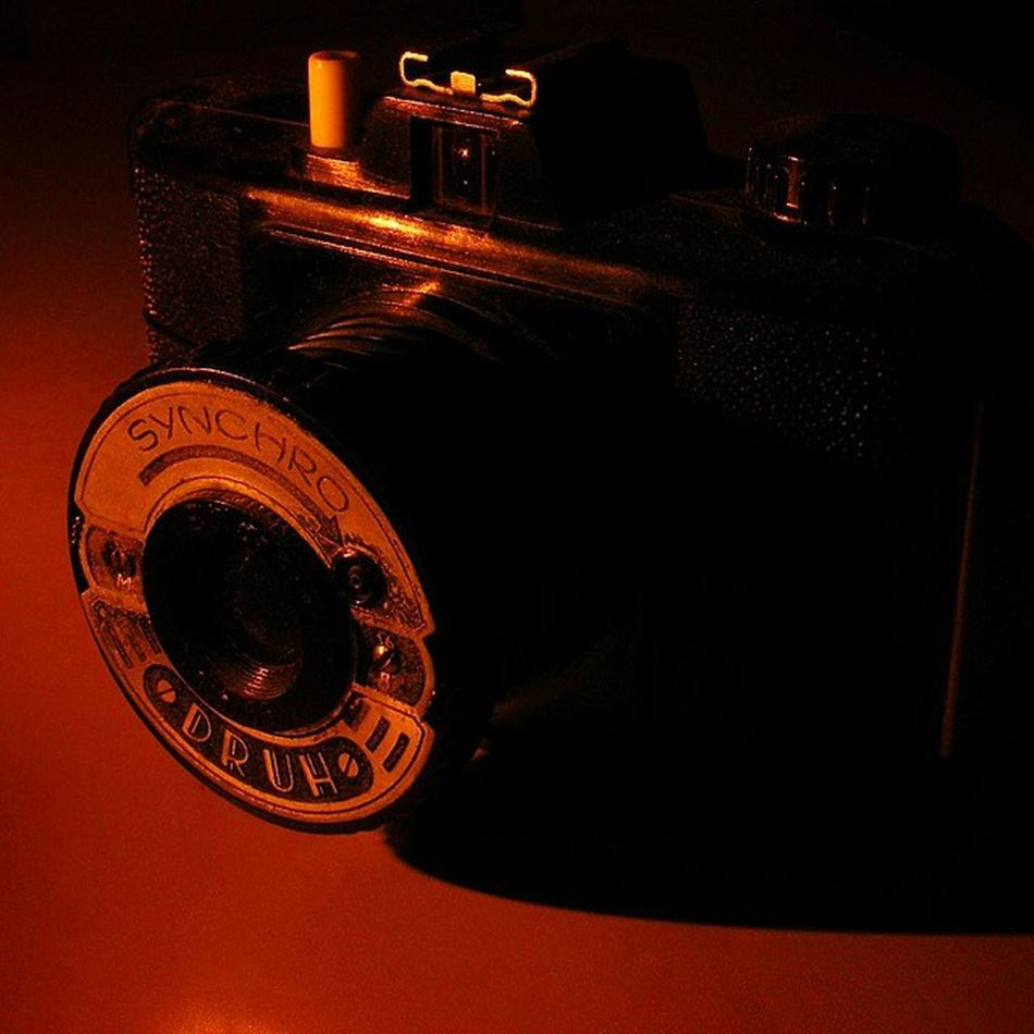Vintage Camera Druch Old Nofilter Candle Light Sepia Analog