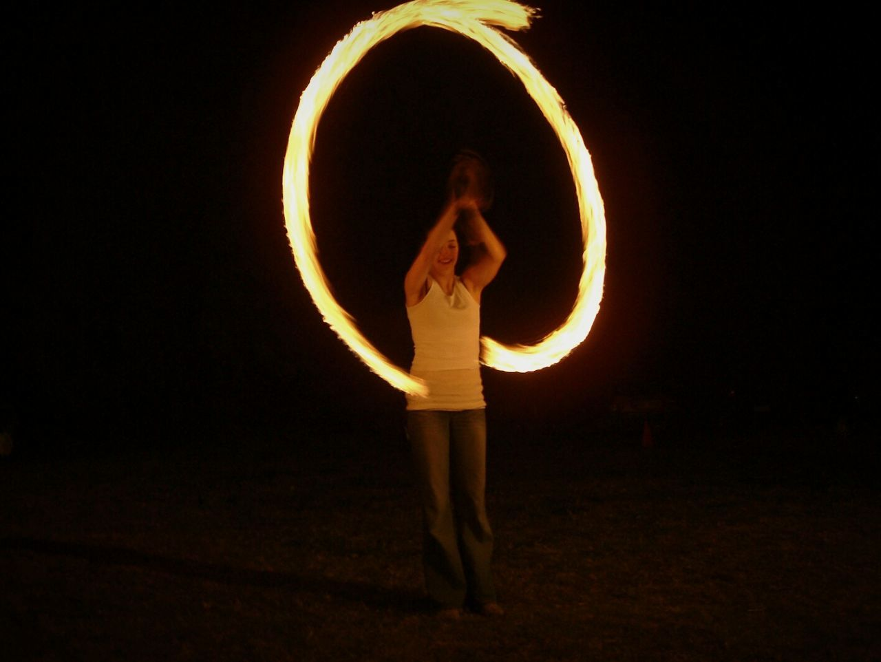 Fire Dancer Long Exposure Fire Flame Fuji Fire Ring Fire Twirling Photography In Motion