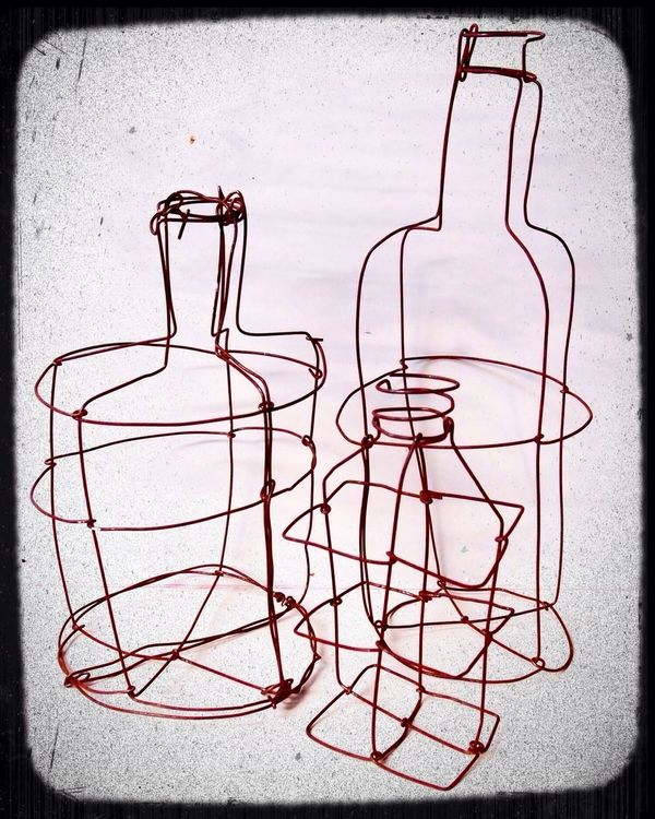 Some of my wire bottles