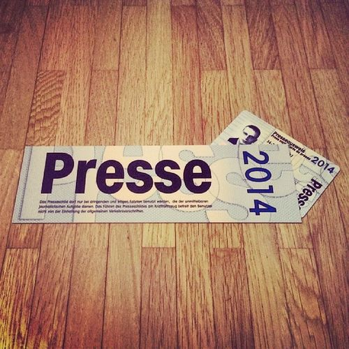 Prepared for an exciting news year. Let's see what (#CES14), #MWC14 & #IFA14 will bring. #PressCard #VBZV Mwc14 Ifa14 Presscard Vbzv Ces14