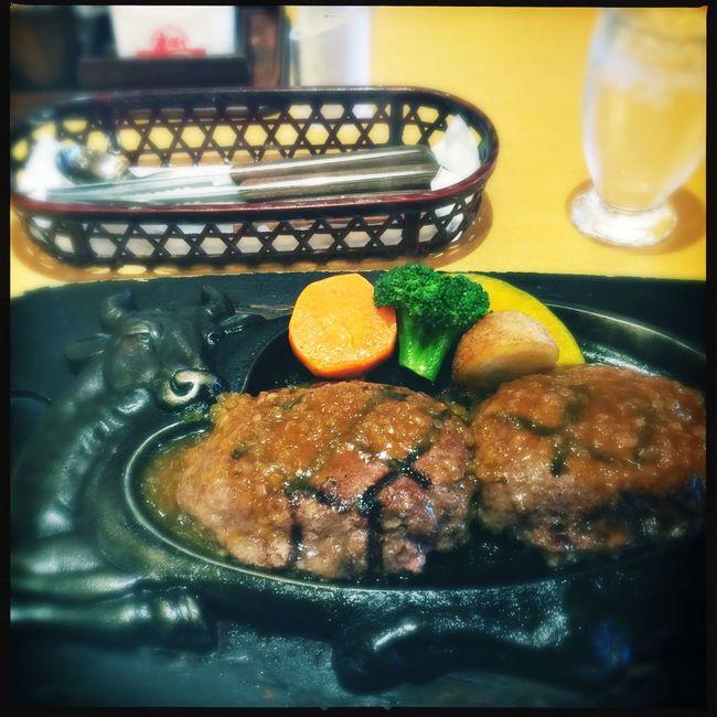 Hamburg Steak at Sawayaka restaurant