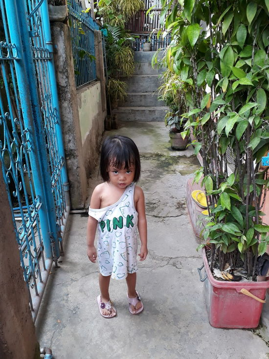 One Person One Girl Only Standing Full Length Child Standing Outdoors Looking At Camera Phone Camera AyeEm Philippines  AyeEm Philippines  Baby