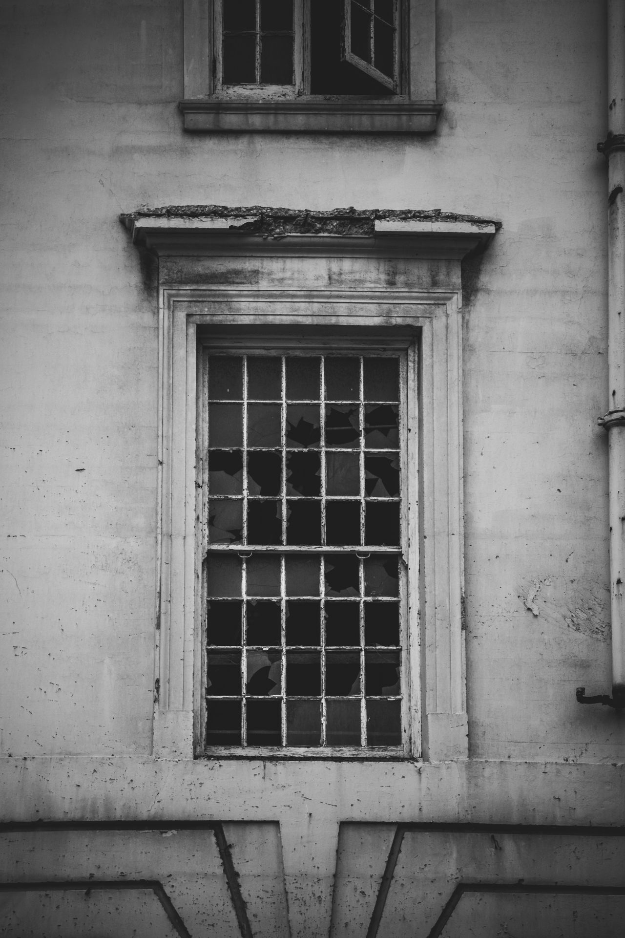 Abandoned building Abandoned Abandoned Buildings Architecture Best Of EyeEm Black And White Black And White Architecture Blackandwhite Broken Glass Broken Window Building Exterior Built Structure House Long Goodbye No People Old Building  Old Buildings Outdoors Ruin Ruined Building Scary Scary Building Sombre Week On Eyeem Welcome To Black Window The Secret Spaces