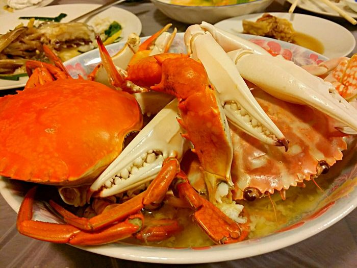 Homemade steamed crabs! Homemade Enjoying A Meal Food Porn Yummy