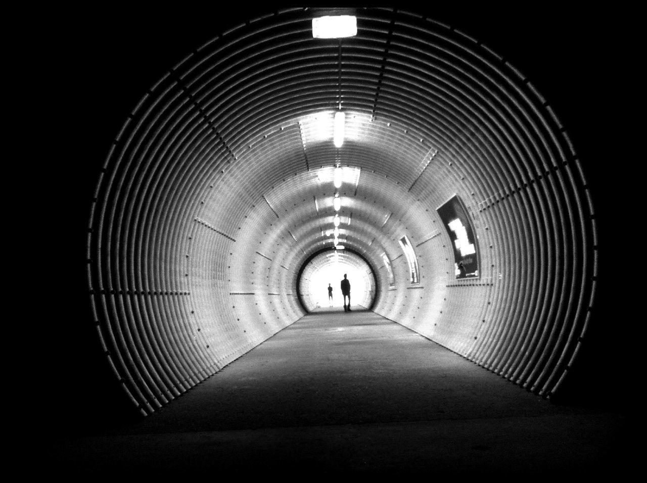 Architecture at Onderzeebootloods Architecture Blackandwhite Tunnel Light