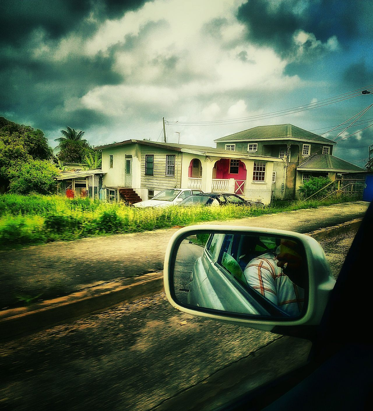 Driving By Driving Around House And Home House And Trees House And Sky Taking Photos Check This Out Nature On Your Doorstep Clouds And Sky Countryside Man Made Beauty Man Made Structure EyeEm Gallery Barbados 2016