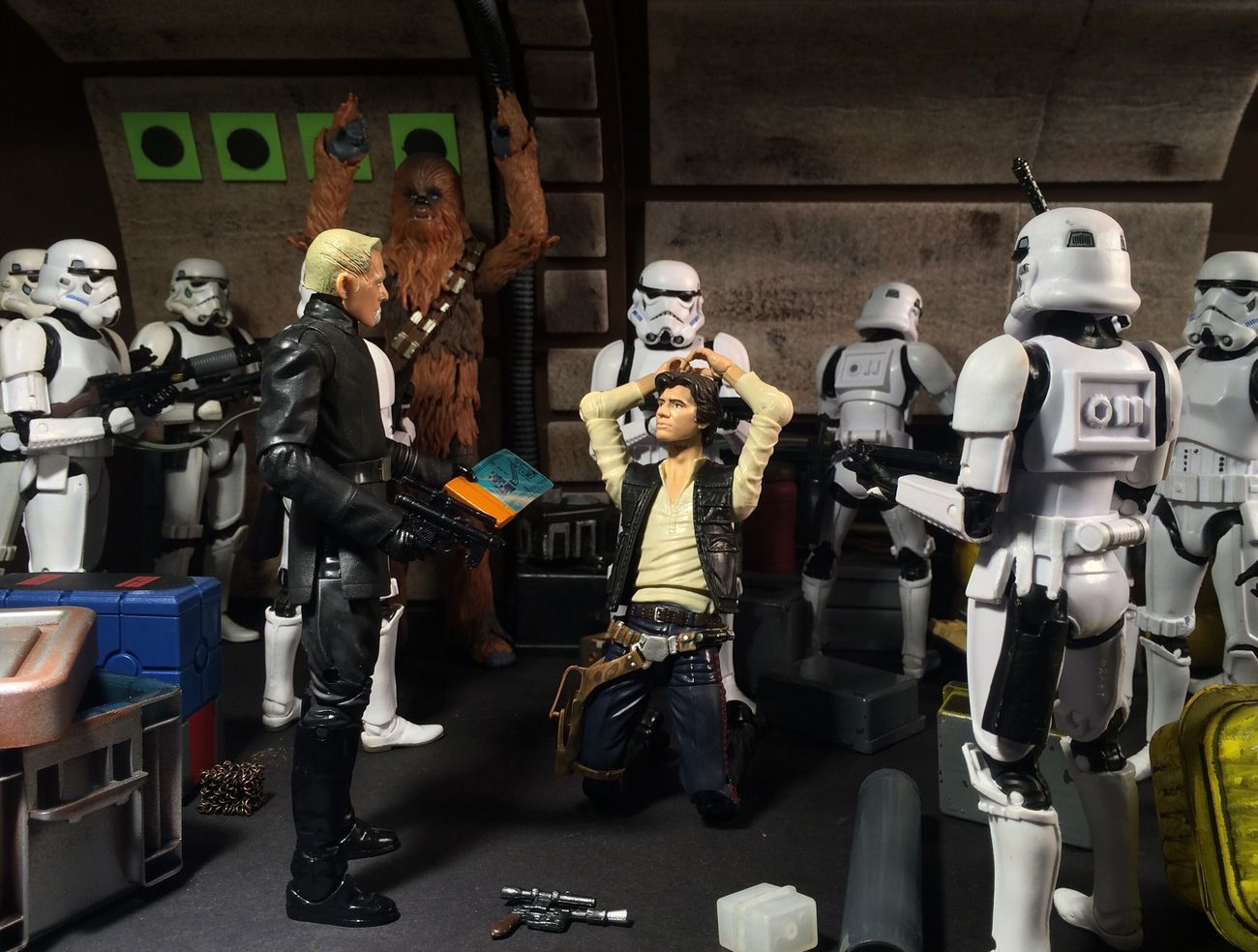How Jan Solo got into his jam with Jabba the Hutt Chewbacca Action Figures Star Wars The Black Series Custom Star Wars Action Figure Toy Photography Action Figure Photography Star Wars Star Wars Custom Han Solo
