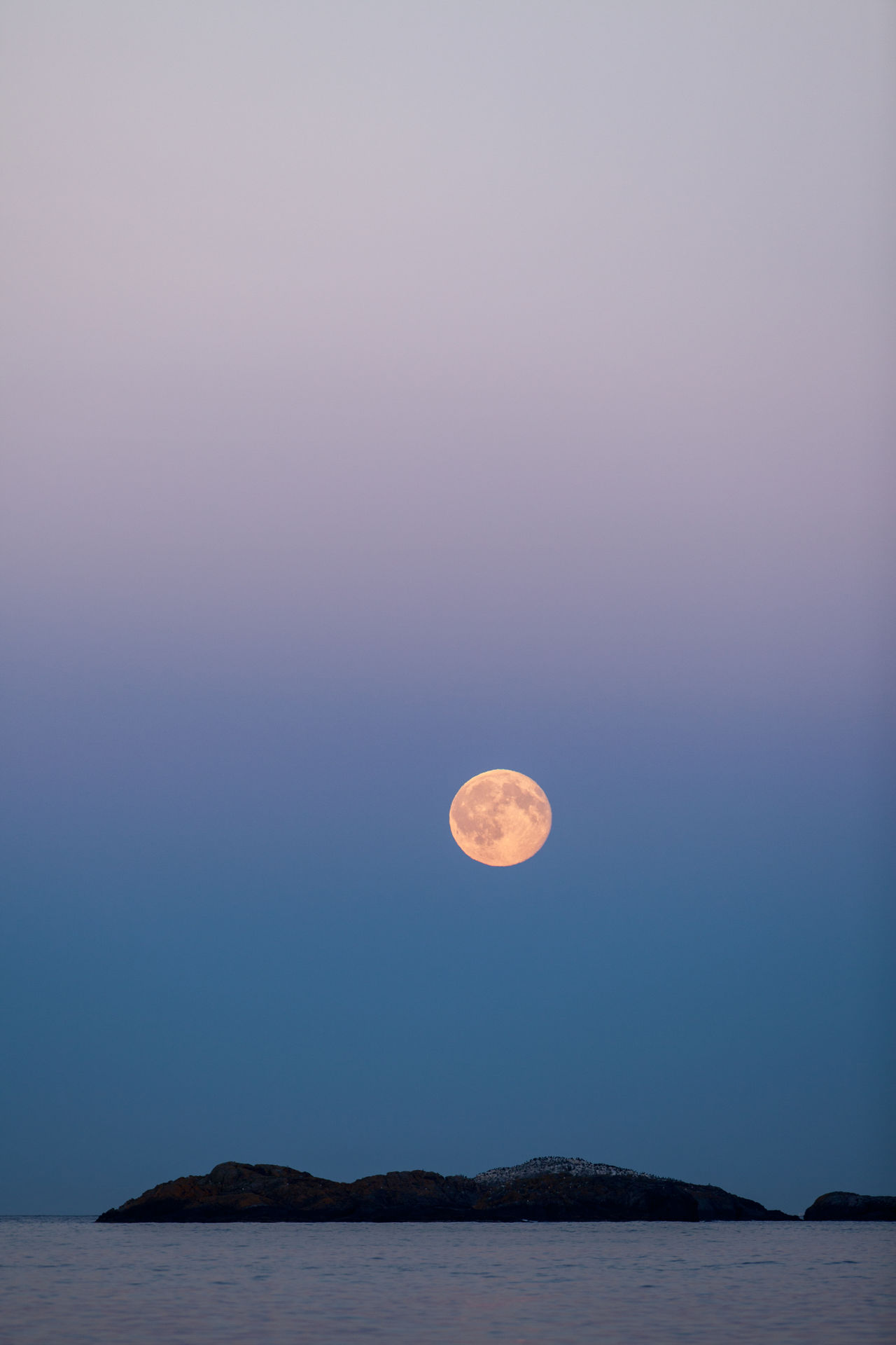 Moon Beauty In Nature Horizon Over Water Moon No People Norway Sea Seascape Sky Tranquility Vertical Water Blue Wave The Great Outdoors With Adobe The Great Outdoors - 2016 EyeEm Awards