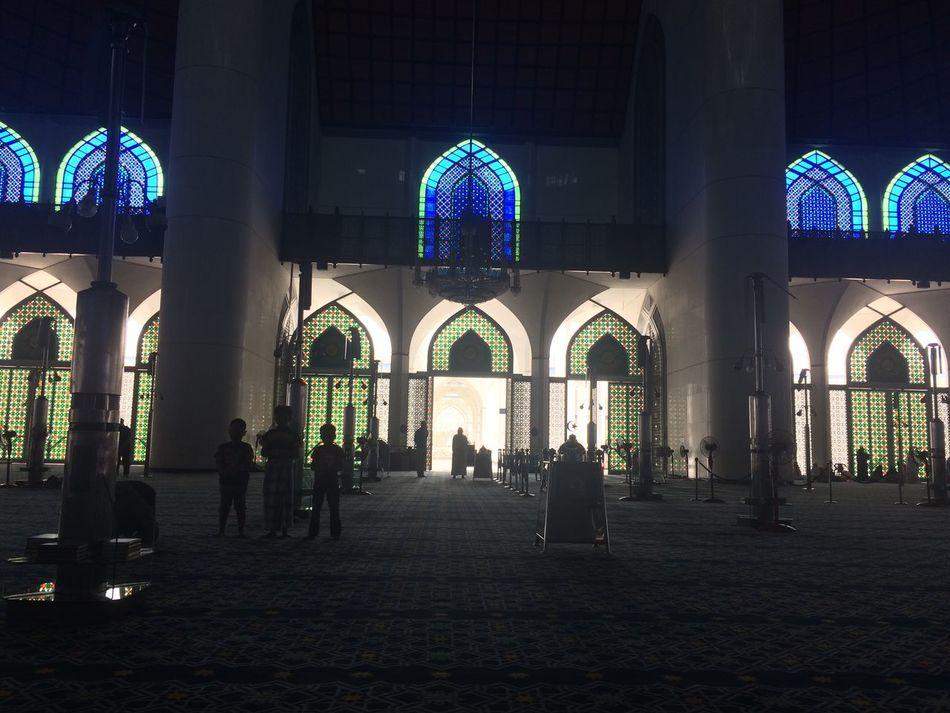 Beautiful colours inside masjid Religion Architecture Travel Destinations Spirituality Indoors