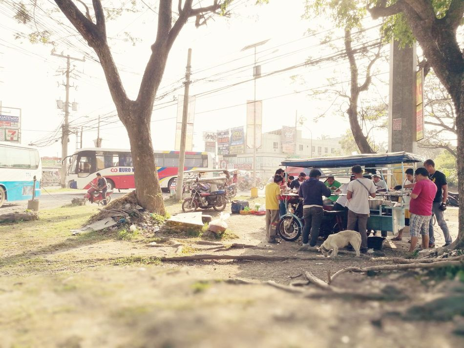 Philippines StreetFoodPH Mode Of Transport Land Vehicle Women Men People Outdoors Large Group Of People Day Adult Adults Only Streetphotography The Street Photographer - 2017 EyeEm Awards