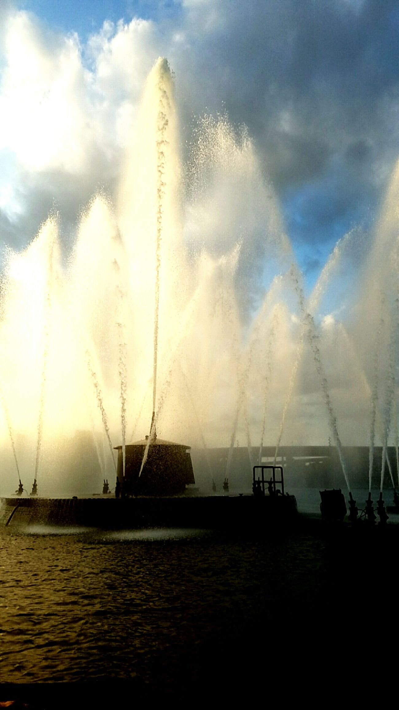 Down town omaha!!! MyPhotography Fountain Outdoor Photography Boatrides