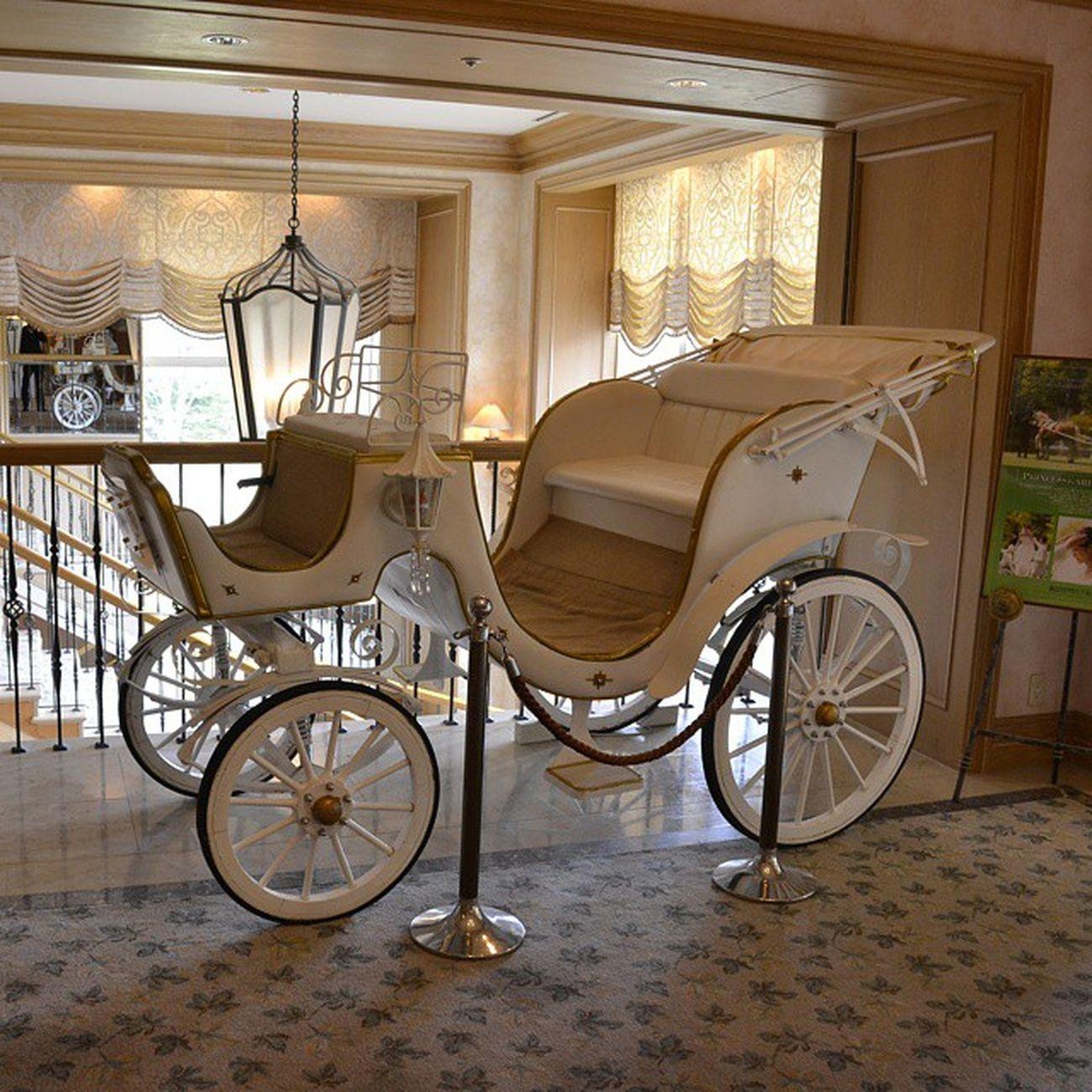 結婚式場 馬車