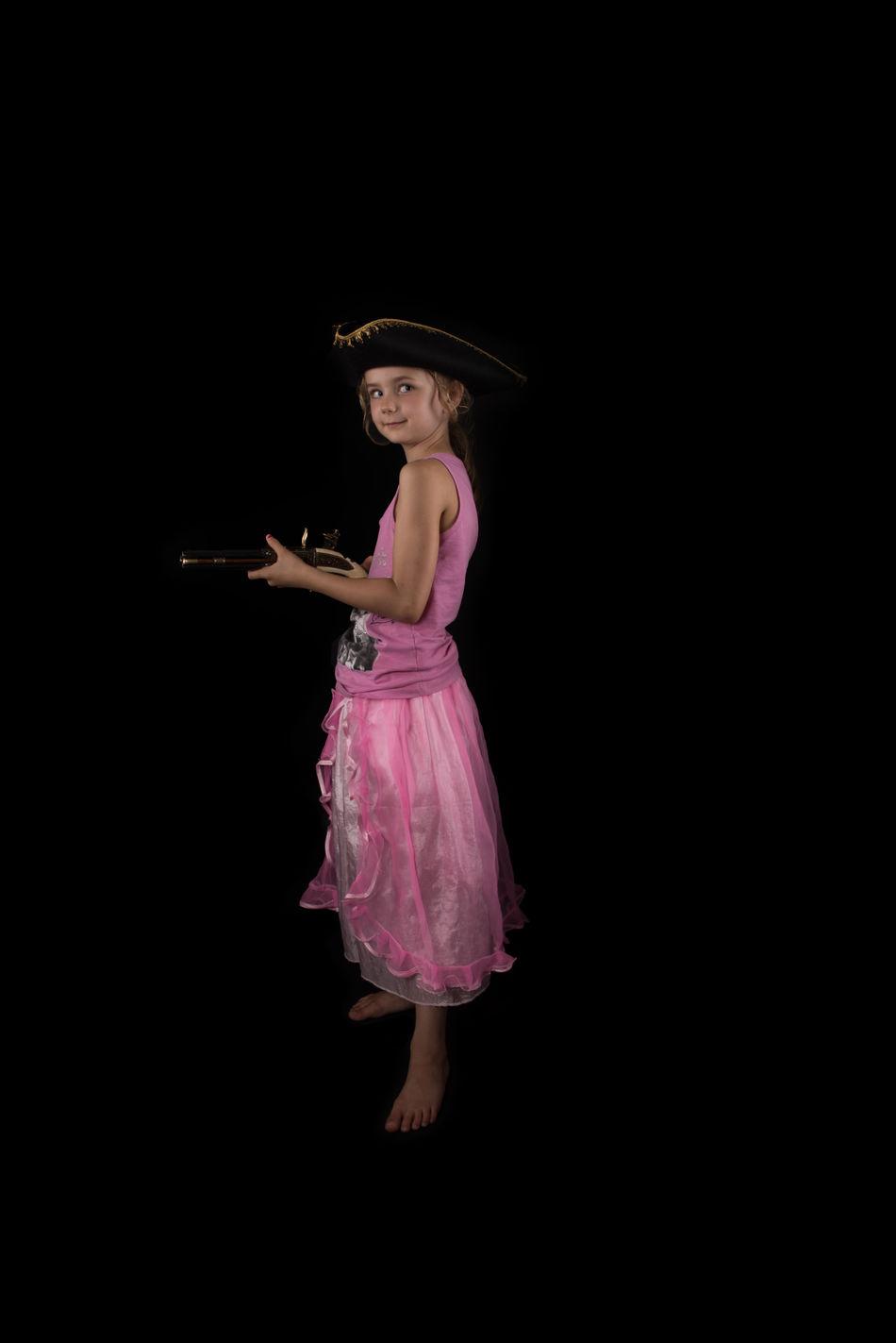 Beautiful stock photos of piraten,  6-7 Years,  Black Background,  Caucasian Ethnicity,  Childhood