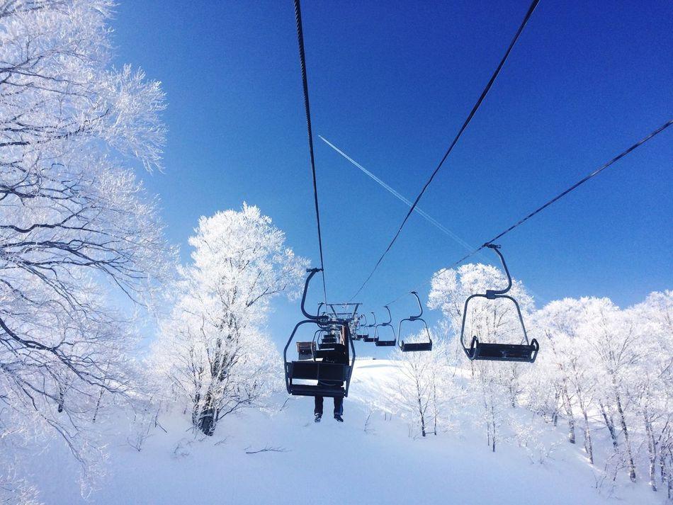 morning universe. Snow Skiing YUZAWA Enjoying The Sun Japan Relaxing