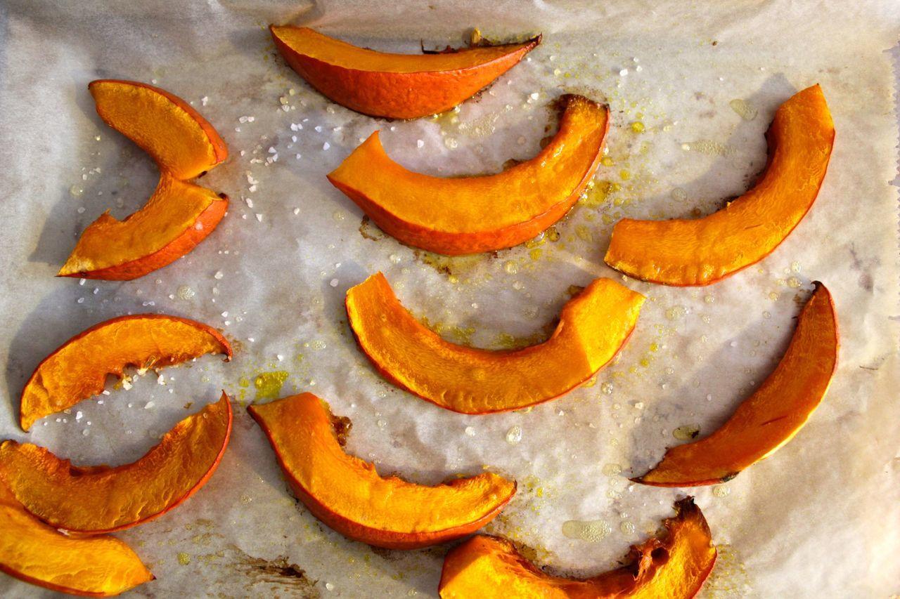 Roasted Pumpkin Slices