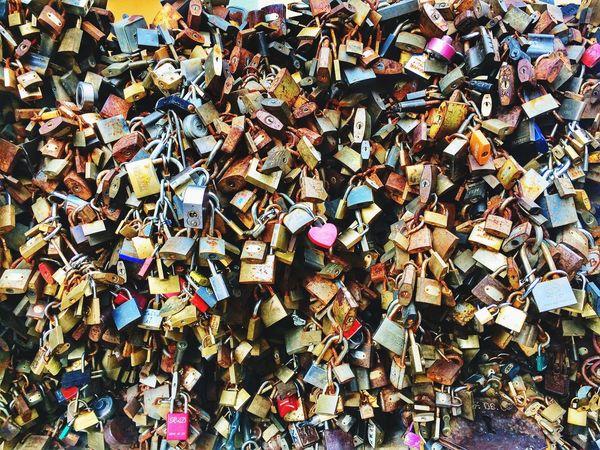 Promises Pécs Padlock Love Lock Love Lock Large Group Of Objects Security Railing Hope - Concept Hanging Romance