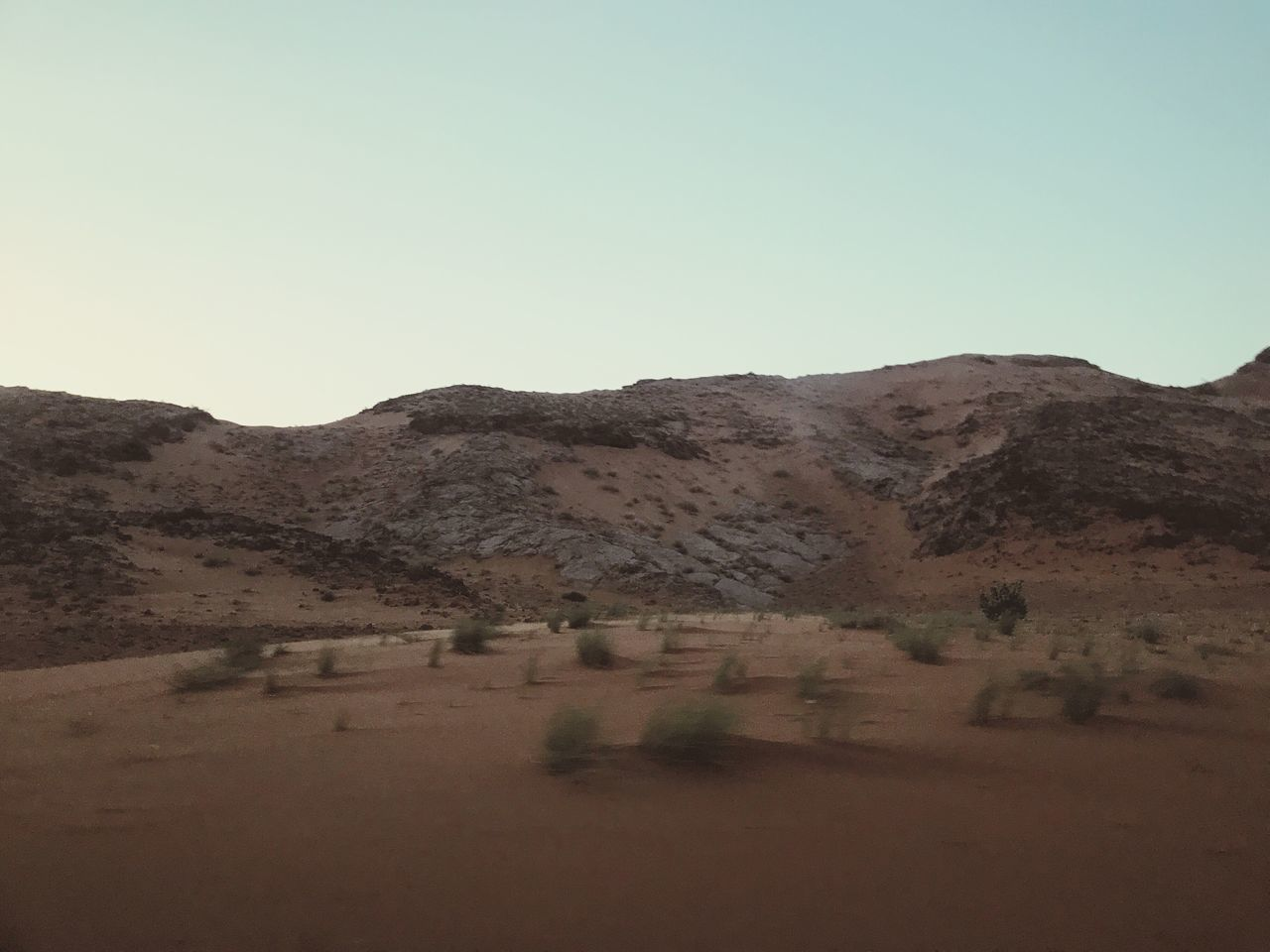 The Great Outdoors - 2017 EyeEm Awards Clear Sky Mountain Nature Desert Tranquility Tranquil Scene Scenics Copy Space Landscape Arid Climate Beauty In Nature Day Outdoors No People Mountain Range Sand Sky Sand Dune