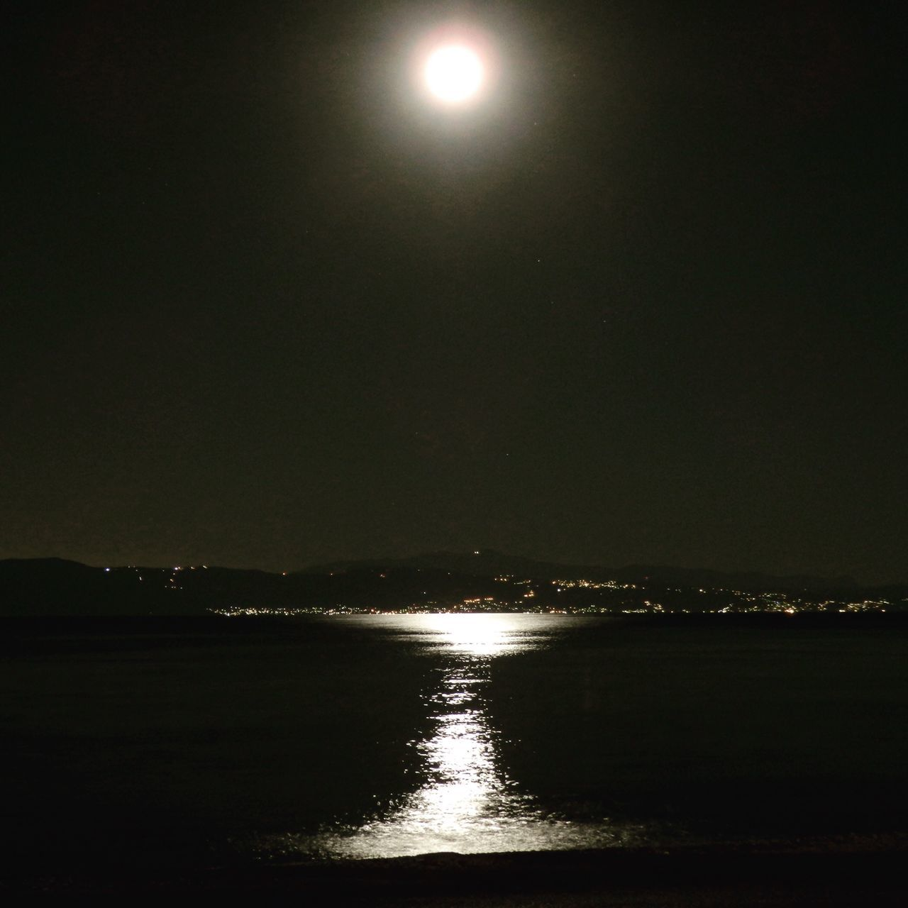 Almost Fullmoon Moonlight Water Water Reflections Reflections August Summer