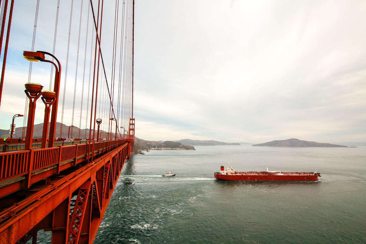 Beautiful stock photos of san francisco, Aircraft Carrier, Architecture, Bay Of Water, Beauty In Nature