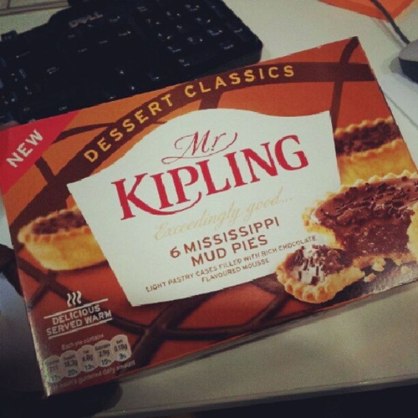 Oh my good lord :(...MrKipling Mississippi  Mudpie Yum