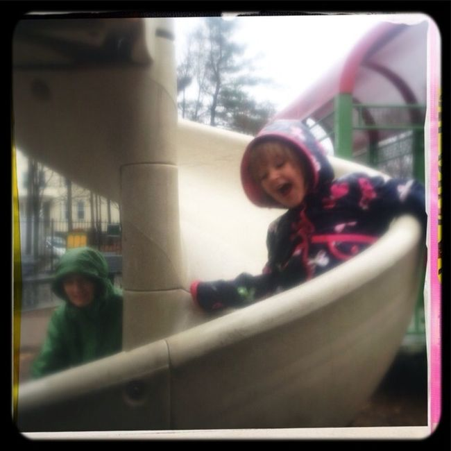 Sliding In The Pouring Rain