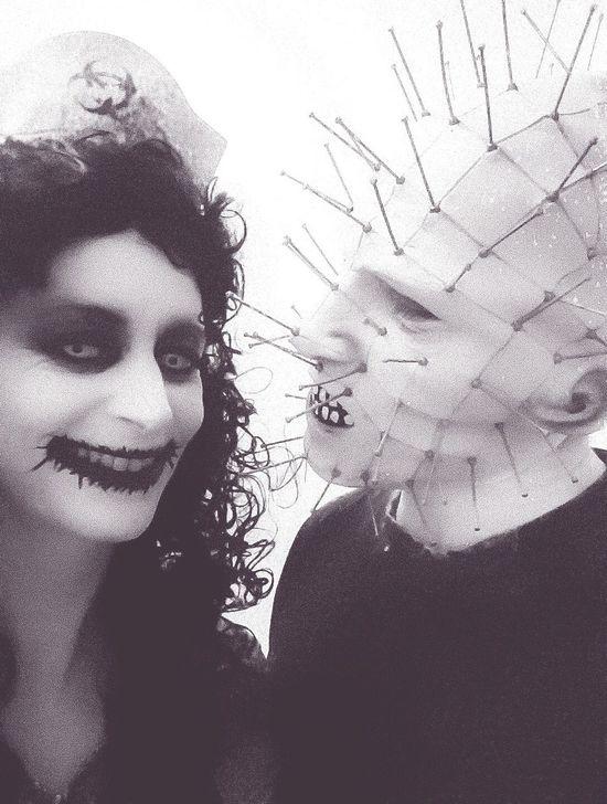 Zombie Apocalypse Biohazard Hellraiser Boyfriend❤ Pinhead Happy Halloween
