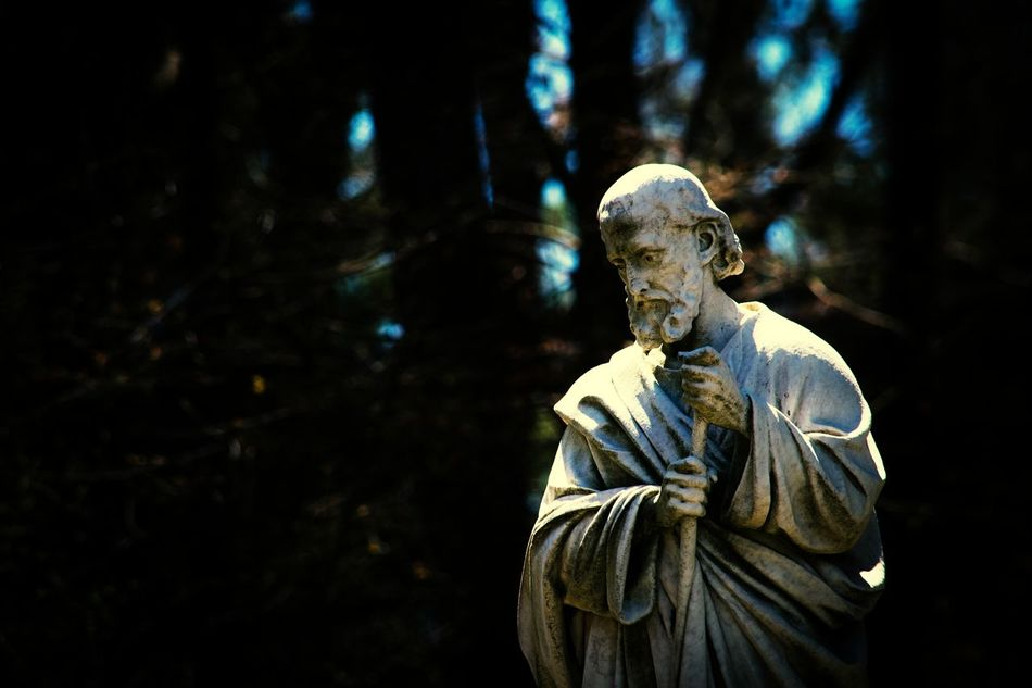 Priest Priesthood Religious Art Statue Photography Old Statue Old And Forgotten My Unique Style My Point Of View My Artistic Style Peaceful View