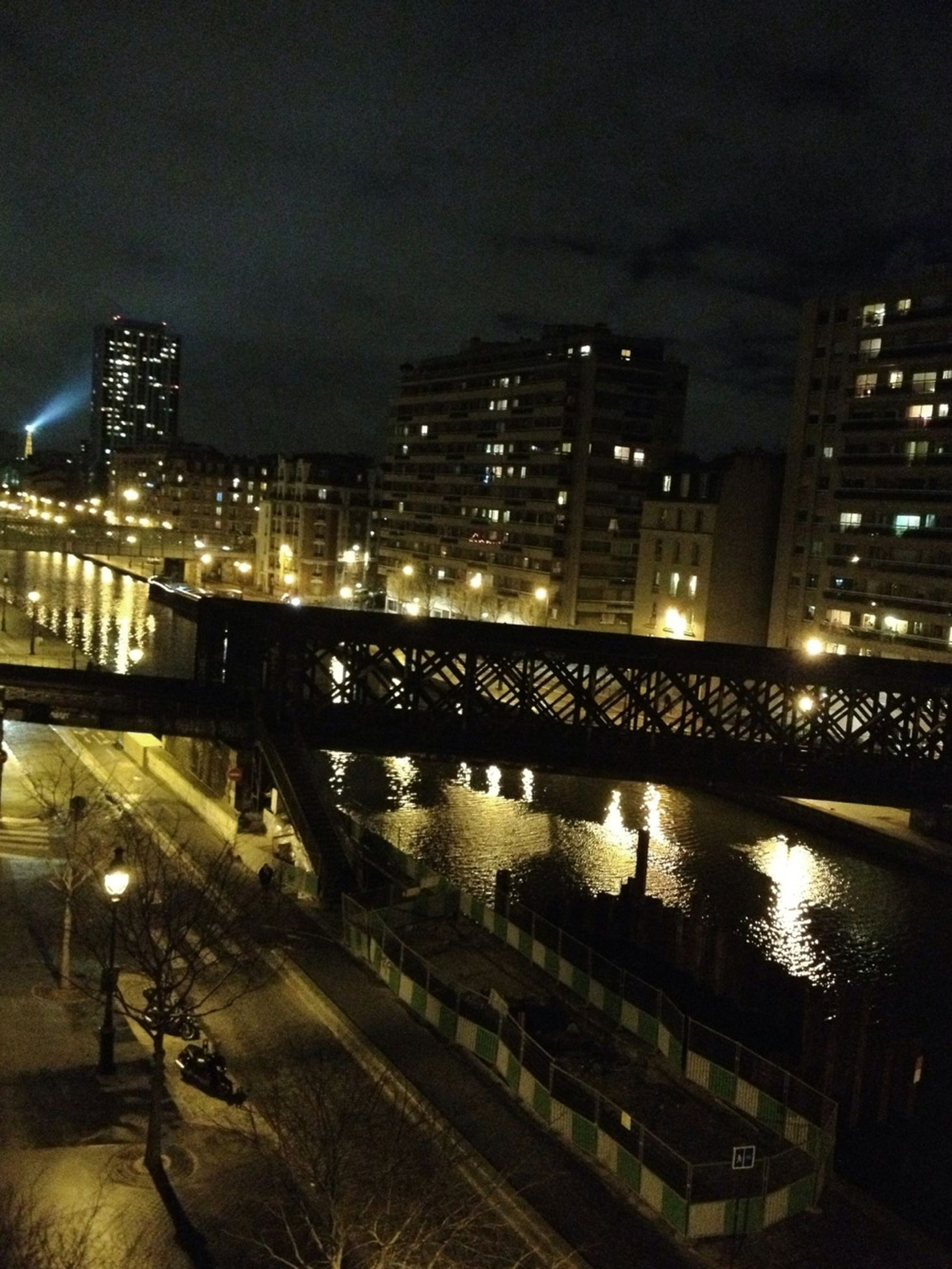 bridge, architecture, connection, built structure, bridge - man made structure, engineering, river, city, modern, railing, capital cities, building exterior, illuminated, cityscape, night, engineering, connection, modern, city life, development