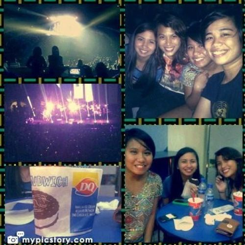Snow Patrol Live in Manila experience with @tinisyay @dancingalmonds & patch. Snowpatrol Concert Instagram Instagood