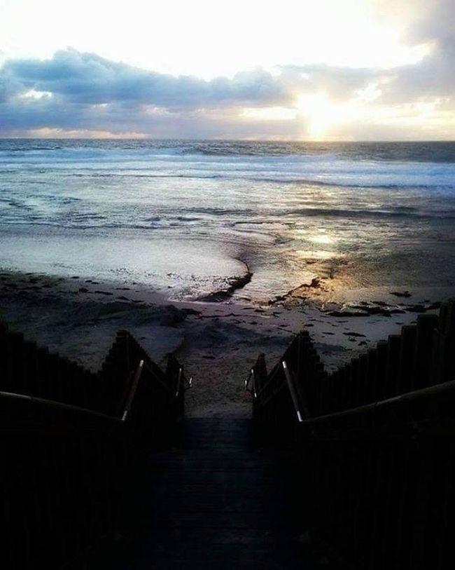 Margaretriver WestCoast Australia Sunset Sun Ocean Beach Surfingpoint Waves Travelling Backpacker Freedom