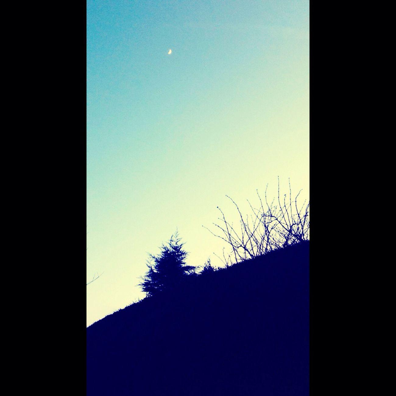 Sky Moon Sunset Hills Alderley Edge Blessed  View Stunning Loving Life! Gorgeous_sunsets
