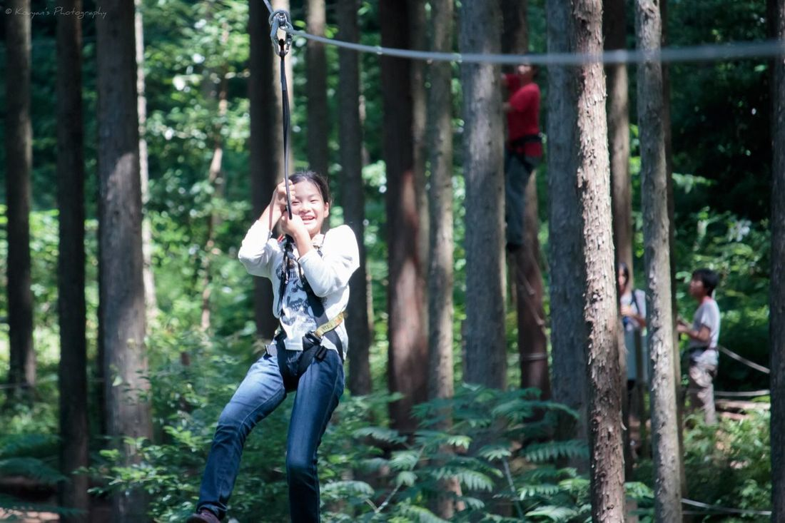 My Daughter Forest Adventures Forest Adventure FUNNING  Enjoying Life Canon EOS 70D Canon 70d Odawara Portrait