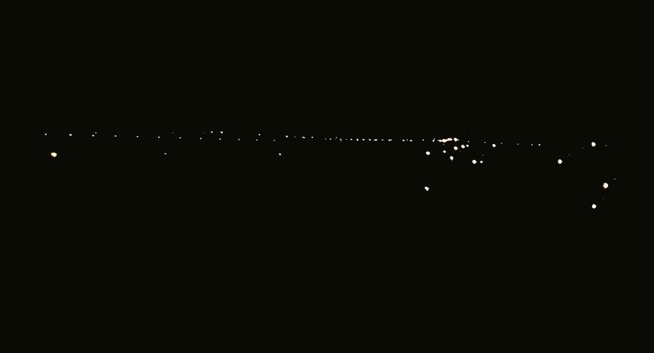The lights of the town are far away from us and it makes me feel peaceful. Light And Shadow MIDDLENIGHT Townlights