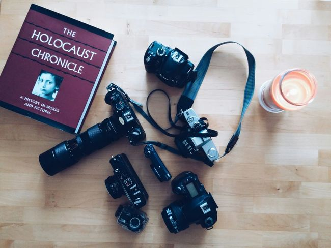 My little treasure Vintage Cameras DSLR Minolta Yashica Nikon Soul