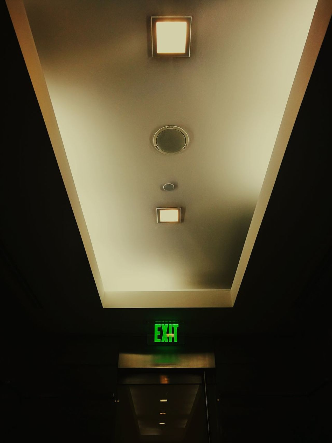 Indoors  Illuminated Exit Sign Guidance Communication No People Day Light And Shadow EyeemPhilippines Business Finance And Industry
