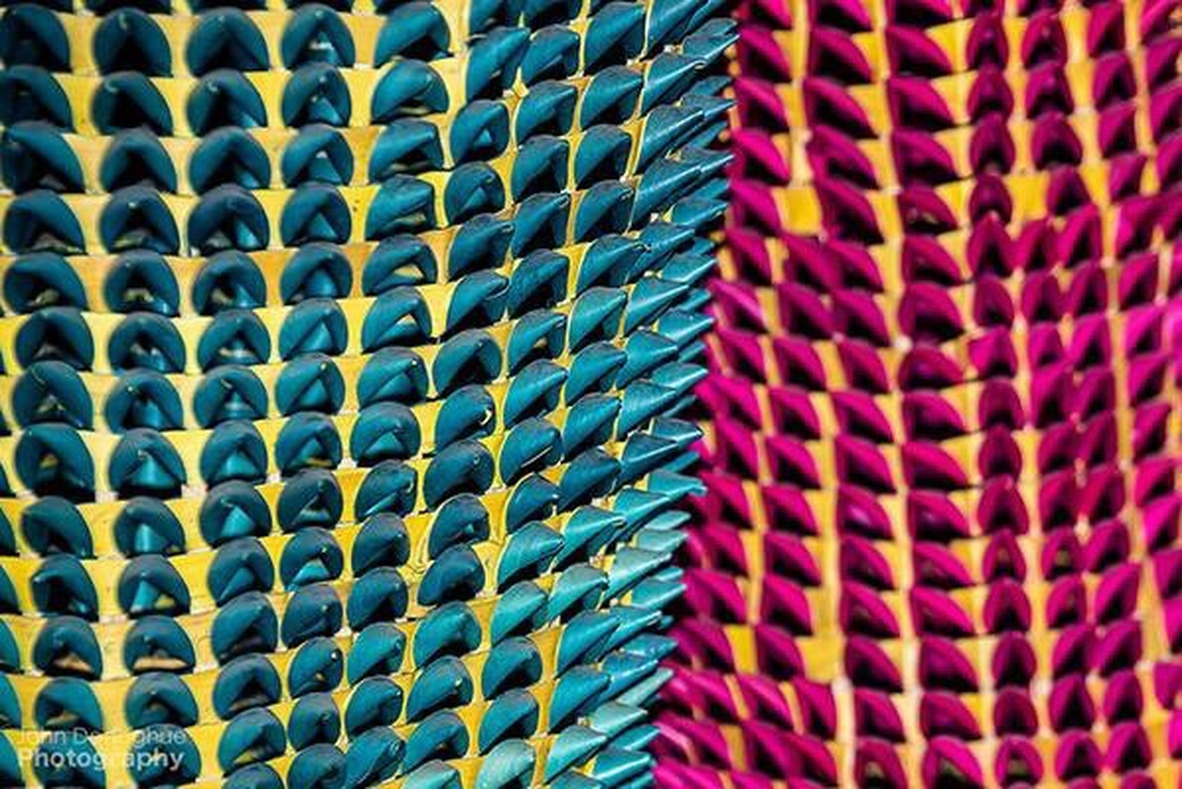 pattern, multi colored, full frame, backgrounds, indoors, design, colorful, close-up, repetition, textured, still life, art and craft, abstract, variation, no people, in a row, abundance, shape, large group of objects, detail