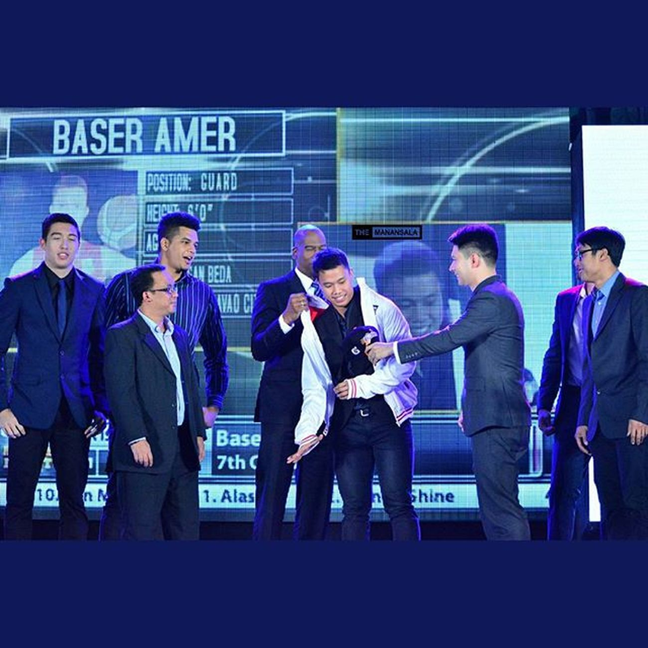 San Beda star 'The Lion King' Baser Amer (@baseramer07) is seventh overall pick by Meralco Bolts 🏀 . . . Pba PBARookieDraft2015 Rookies hoop ballers ballislife themanansala