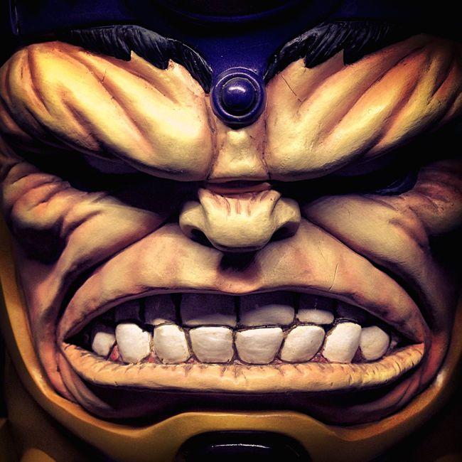 Modok Villain Marvel Evil Statue Portrait Bowen