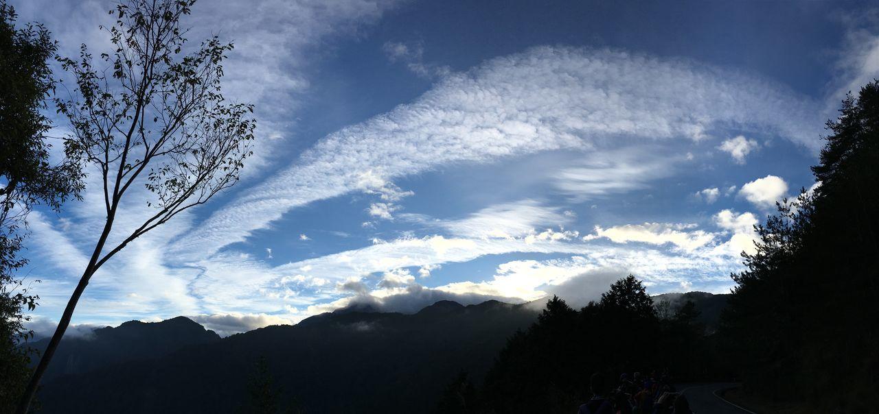阿里山日出 Landscape Sunrise Panaroma