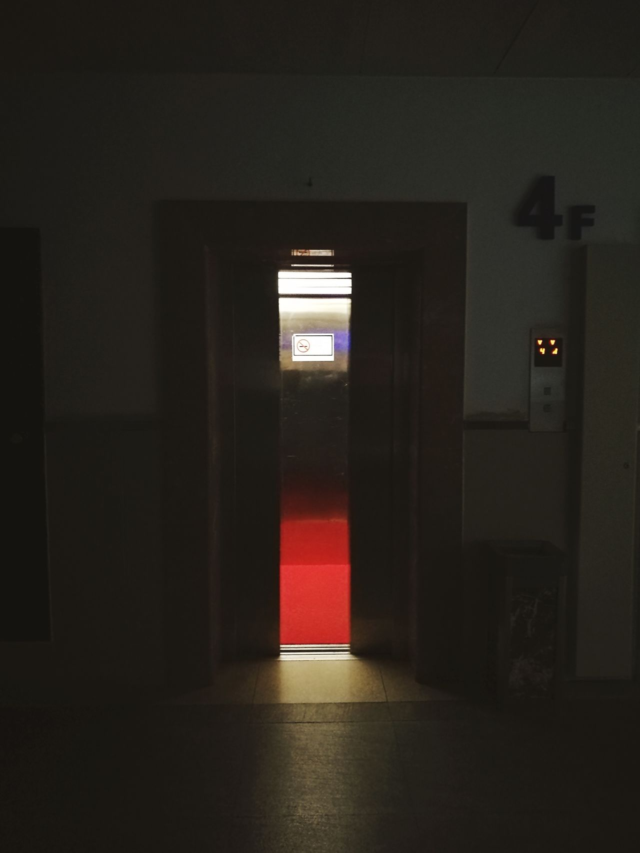 No People Red Indoors  Built Structure Illuminated Exit Sign Doorway Architecture Day