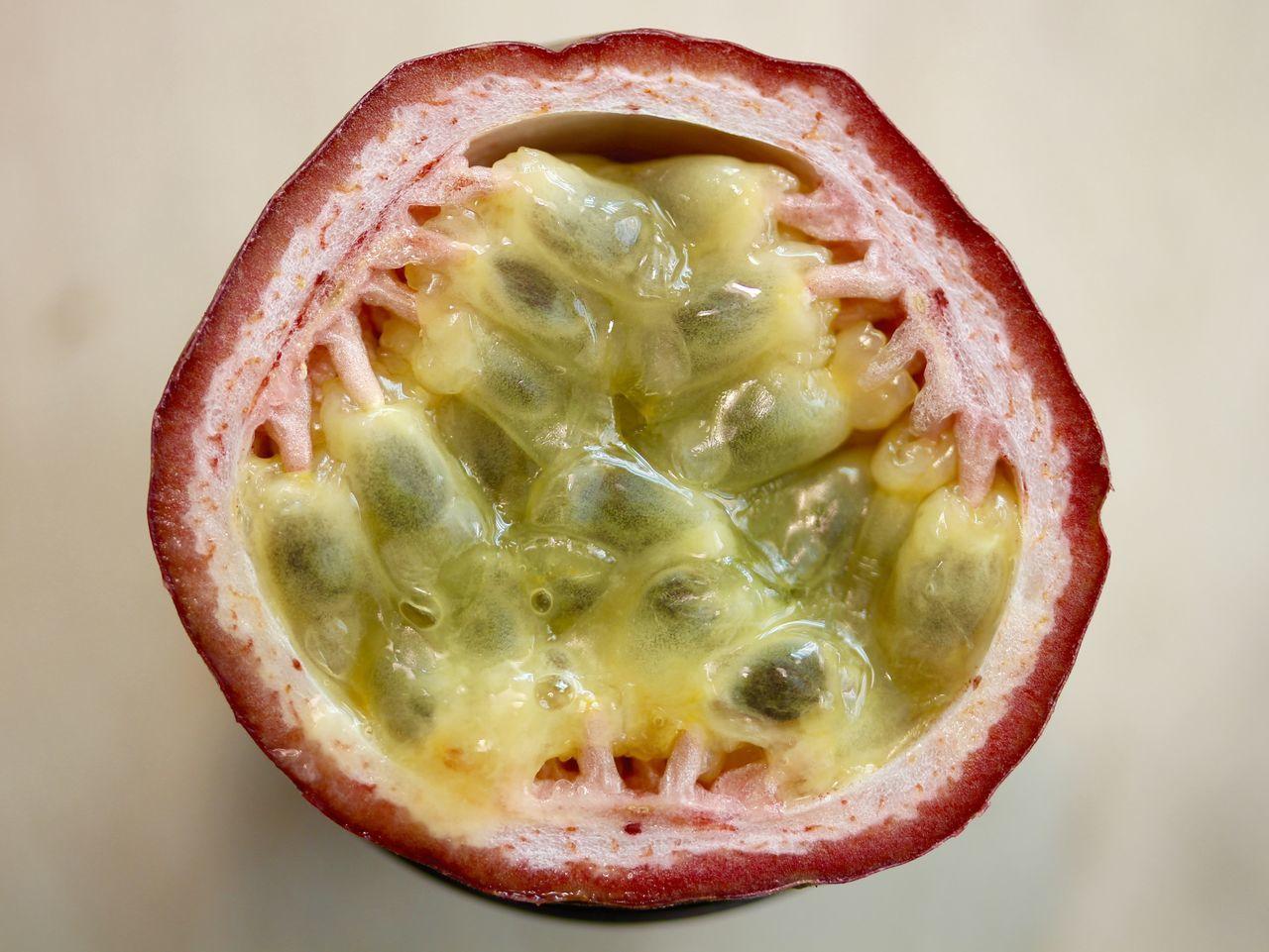Fruit Maracujá Maracujá Maracuya Passionfruit Passionsfrucht Frucht Exotic Macro Fruits