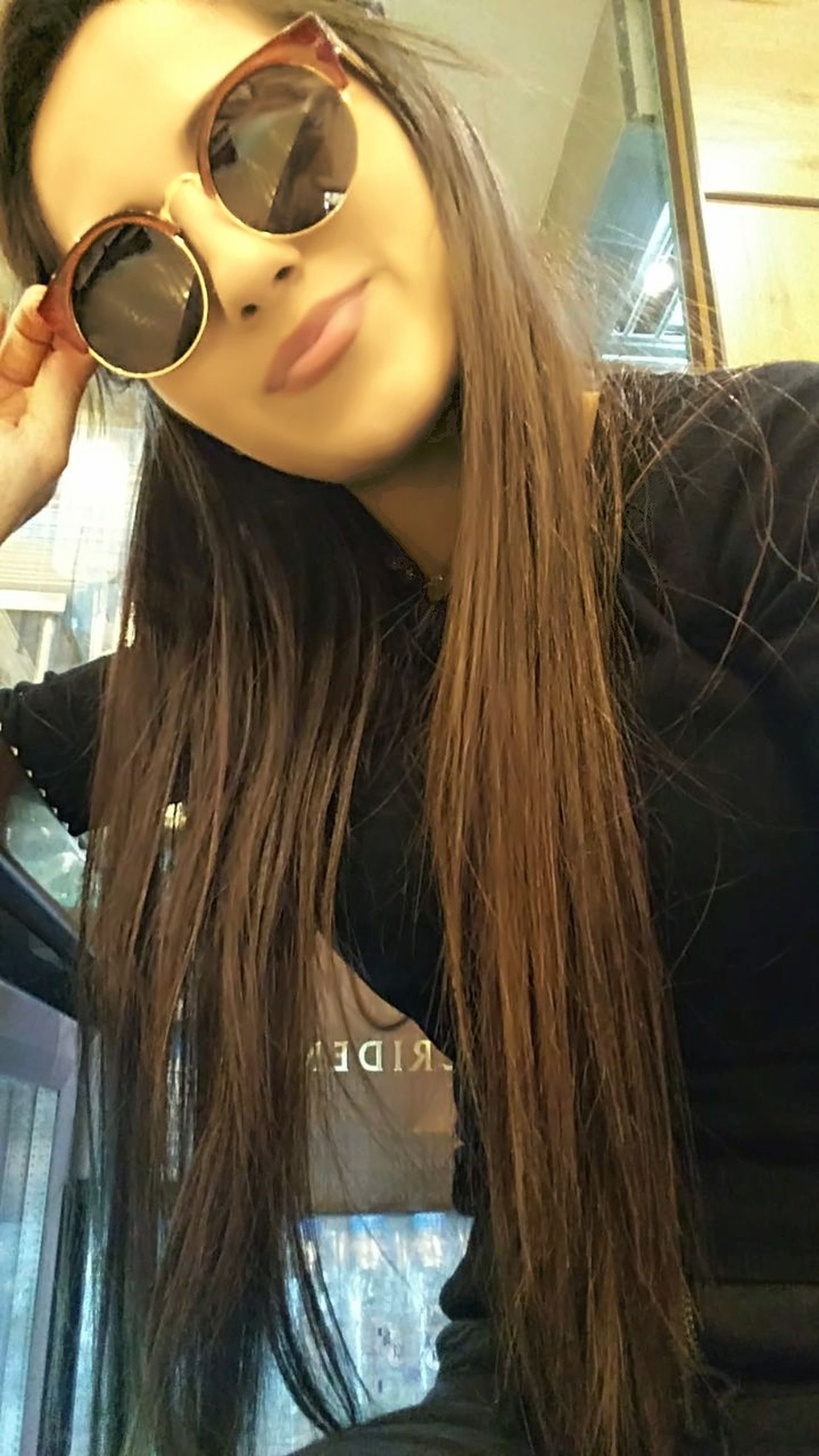 Only Women Sunglasses👓 Long Hair One Person Beautiful Woman